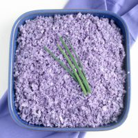 Purple Cauliflower Rice