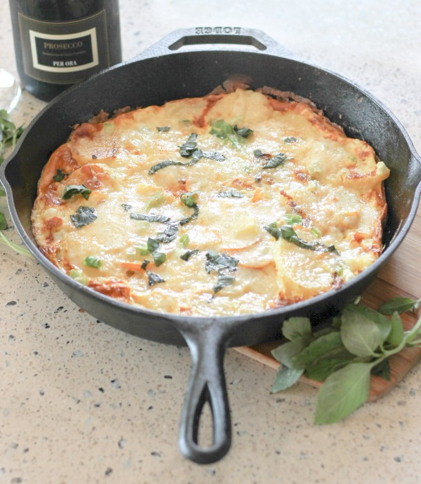 Potato Zucchini Frittata by Diverse Dinners