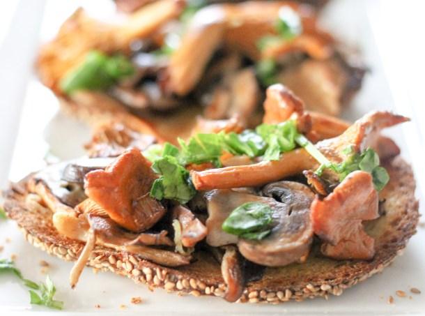 Mushroom Bruschetta by Diverse Dinners