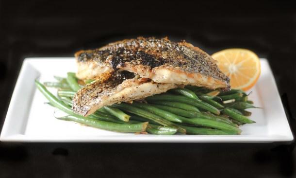 Crispy Black Sea Bass by Diverse Dinners