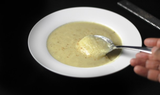 Apple Parsnip Soup by Diverse Dinners