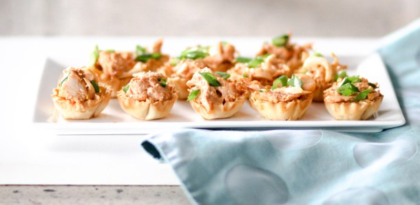 Spicy Chicken Canapes by Diverse Dinners