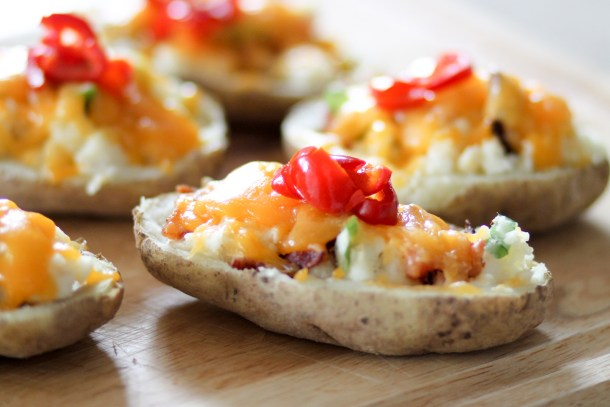 Loaded Baked Potatoes by Diverse Dinners