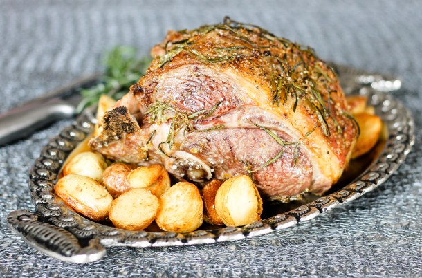 Roast Half Leg of Lamb by Diverse Dinners