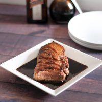 Seared Duck Breast with Cointreau Sauce