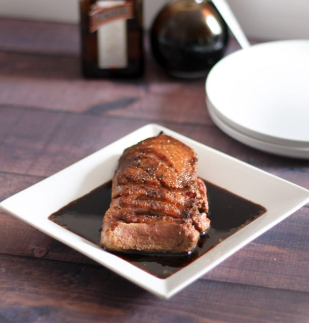 Seared Duck Breast with Cointreau Sauce by Diverse Dinners