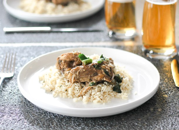 Stewed Spicy Basil Chicken by Diverse Dinners