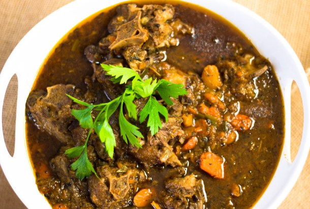 Stewed Oxtail by Diverse Dinners
