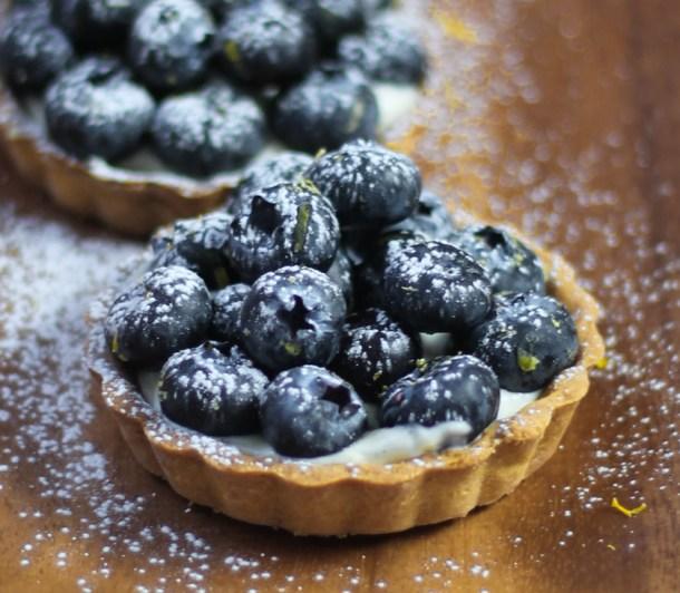 Blueberry Lemon Mascarpone Tarts by Diverse Dinners