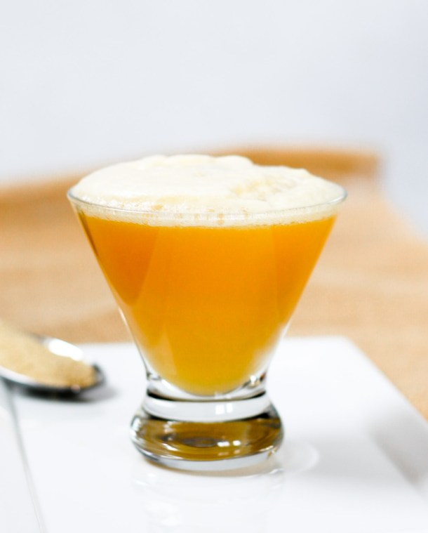 Lemon Ginger Bourbon Fizz by Diverse Dinners