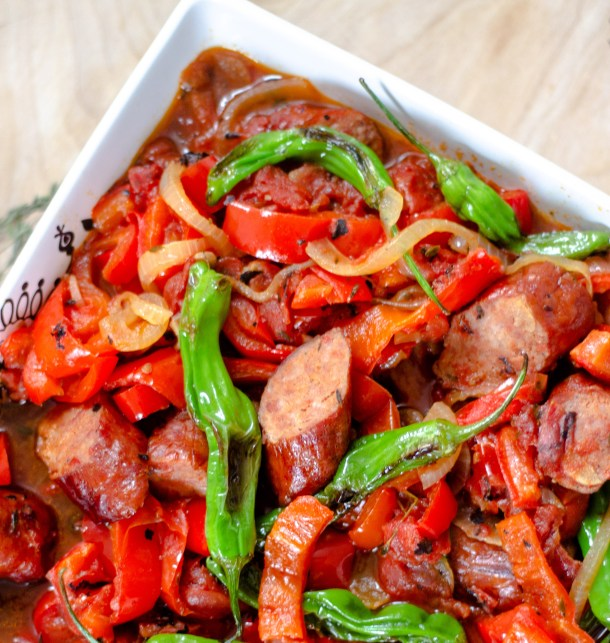 Kielbasa and Peppers by Diverse Dinners