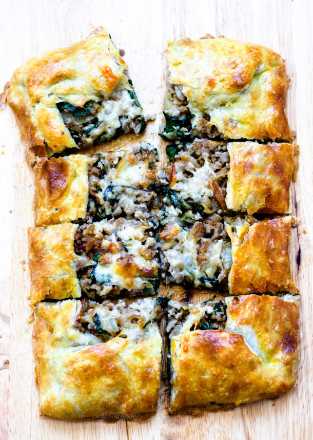 Sausage Tart by Diverse Dinners