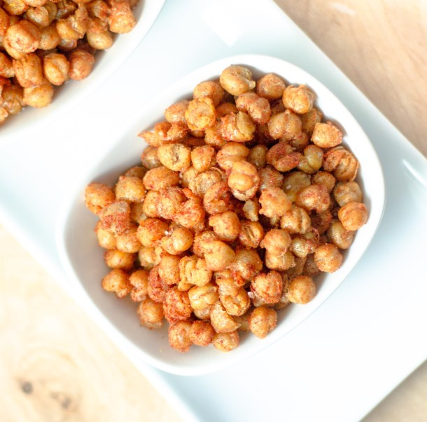 Fried Paprika Chickpeas by Diverse Dinners