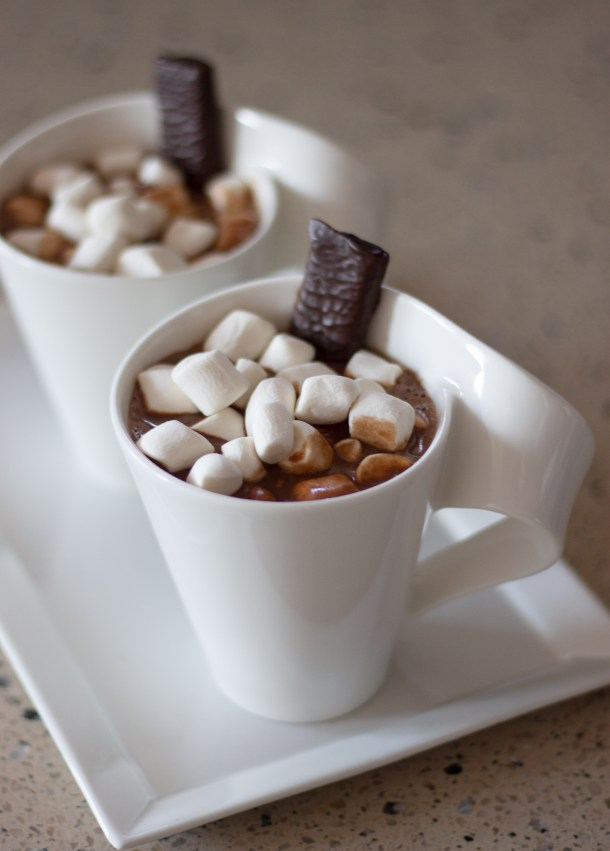 Vegan Hot Chocolate by Diverse Dinners