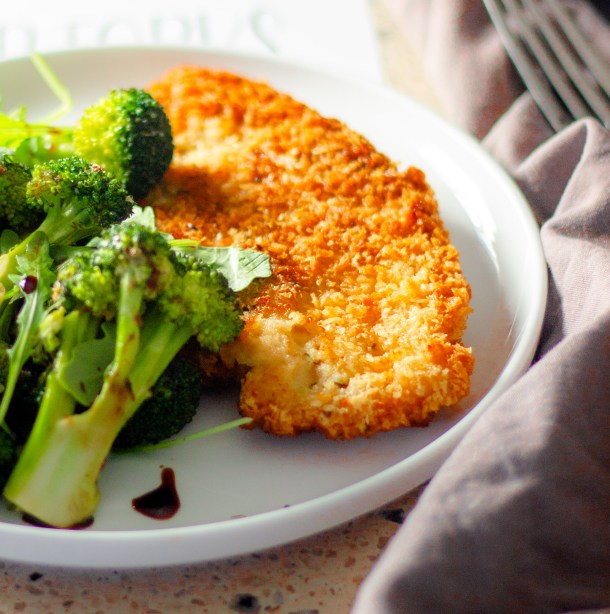 Chicken Milanese by Diverse Dinners