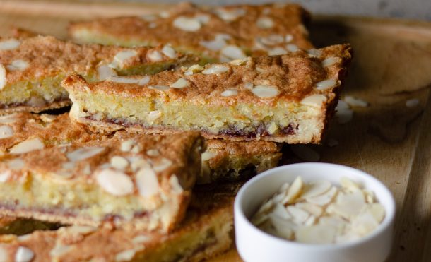 Bakewell Tart by Diverse Dinners