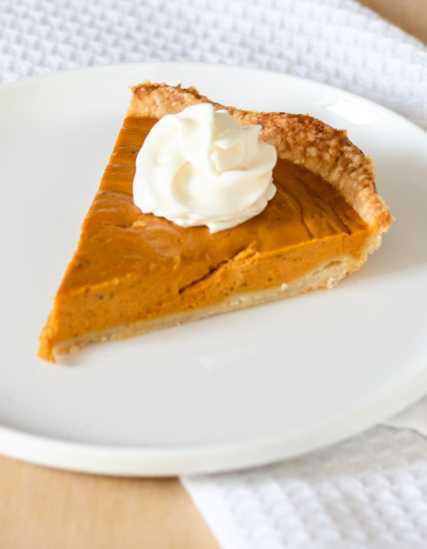 Pumpkin Pie by Diverse Dinners