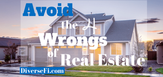 Avoid The Four Wrongs of Real Estate