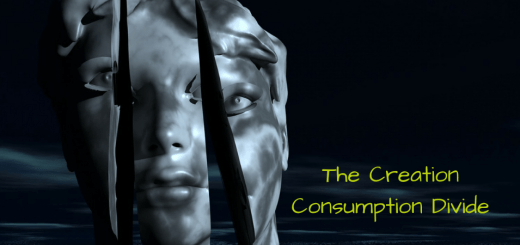 The Creation Consumption Divide