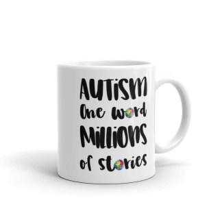 Autism – One word, millions of stories Coffee Mug