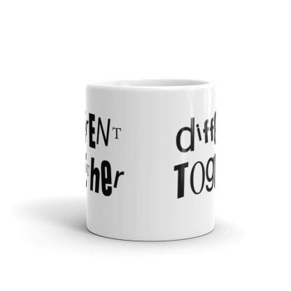 Different Together – Disability – Mental Health Mug