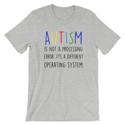 autism is not a processing error