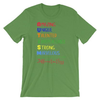 Autism – Different not less T-Shirt