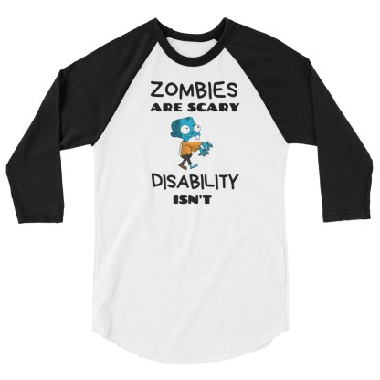 zombies are scary disability isn't black/white