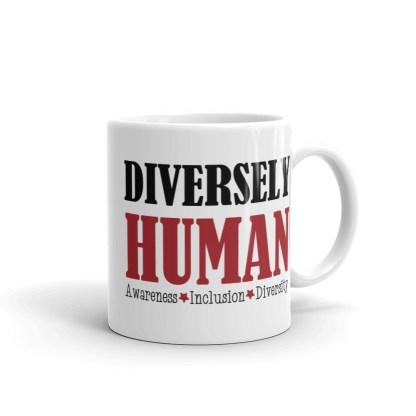 Diversely Human Logo Mug