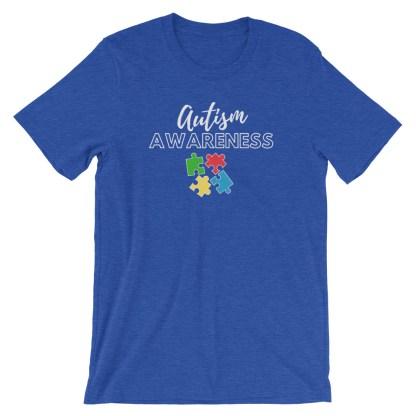 autism awareness puzzle shirt