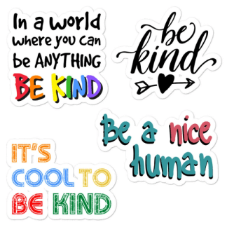 Kindness sticker pack