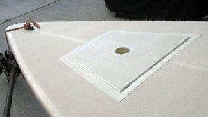 laser mast step repair kit installed by Diversified Fiberglass