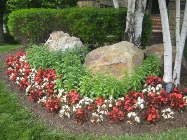placing boulders in fall