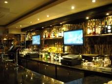 Le bar of le Hard Rock Cafe