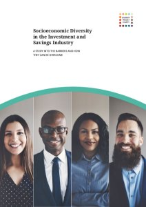 Socioeconomic Diversity in the Investment and Savings Industry Report