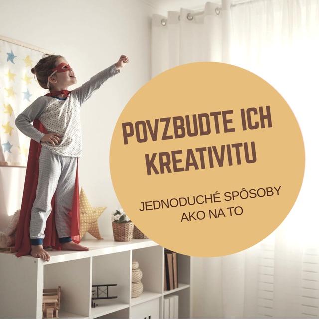 Blog-Ako povzbudiť kreativutu u detí