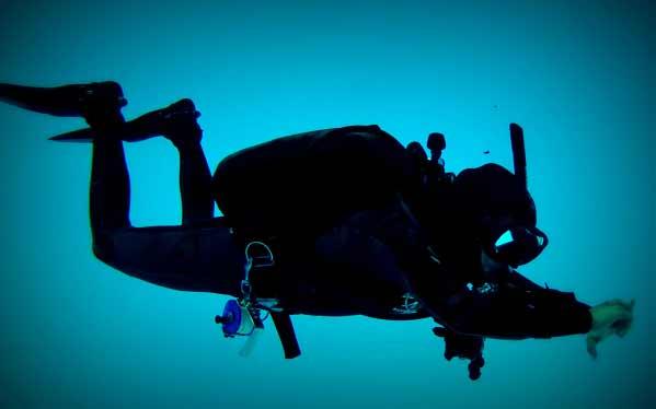 Perfect Trim diver