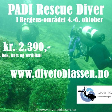 PADI Rescue Diver-kurs
