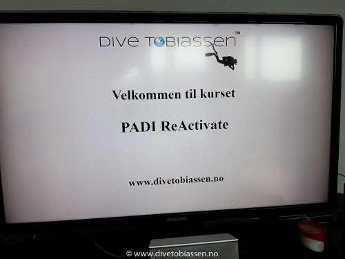 PADI ReActivate-kurs