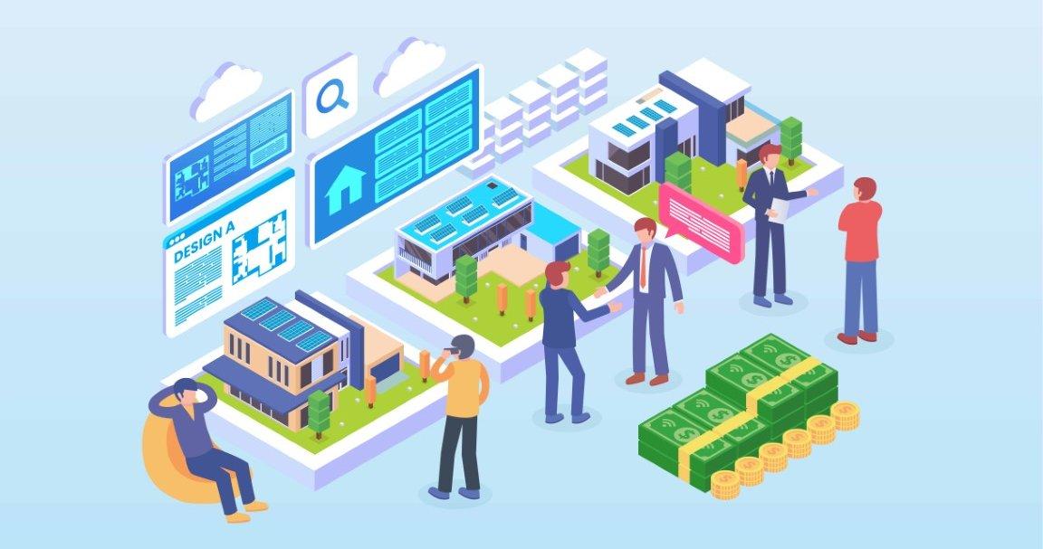 real estate website for inspiration in 2020