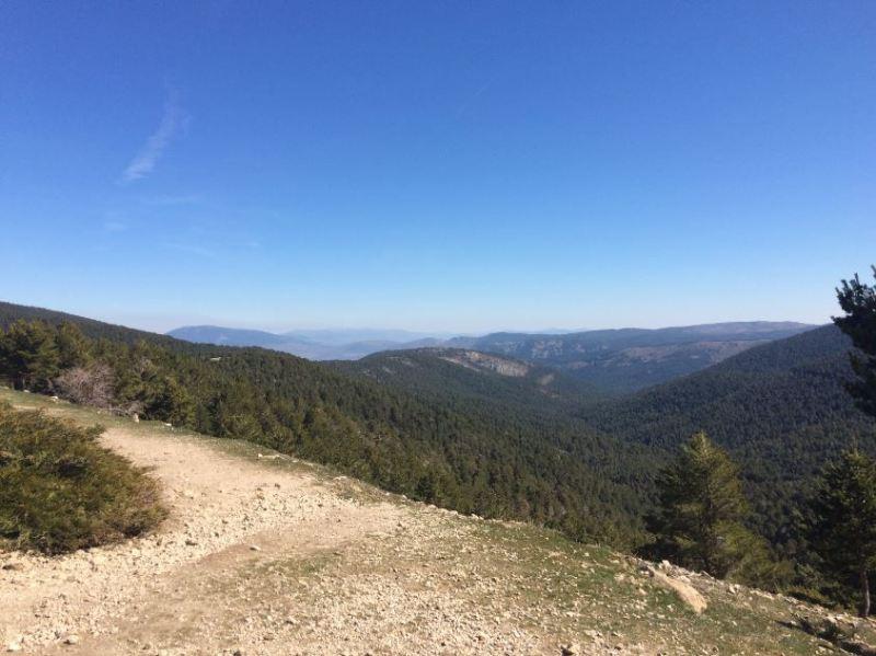 Vistas desde el Refugio El Pingarron