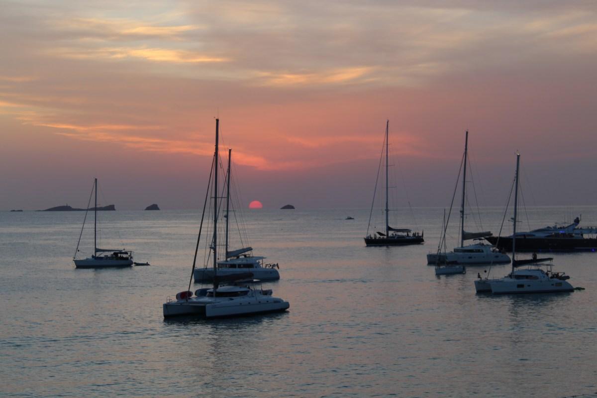 Atardecer en Ibiza