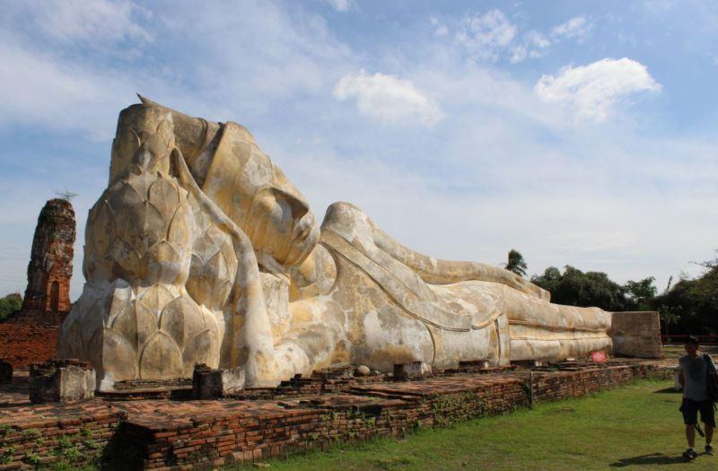 Buda reclinado en WatLokayasutharam