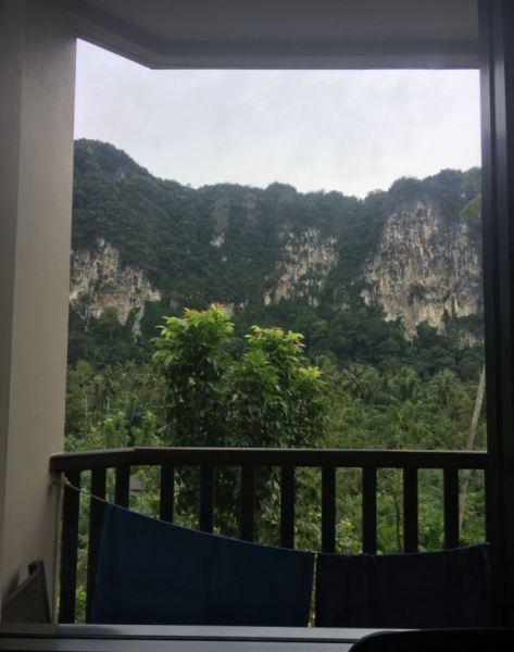 Vistas desde la terraza del hotel Ibis Styles Ao Nang