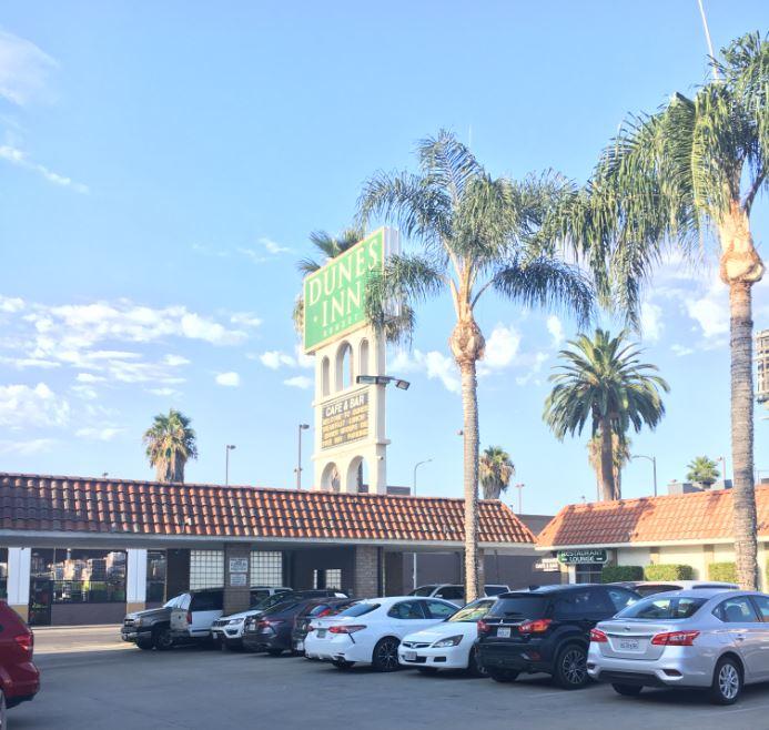 Hotel Dunes Inn Sunset
