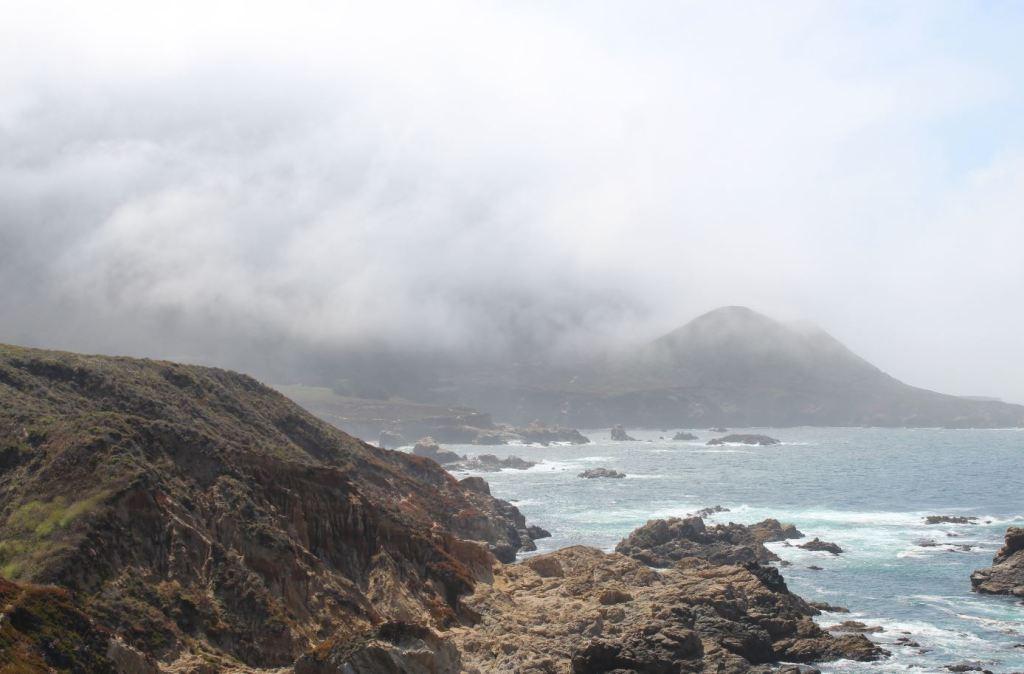 Niebla en Big Sur
