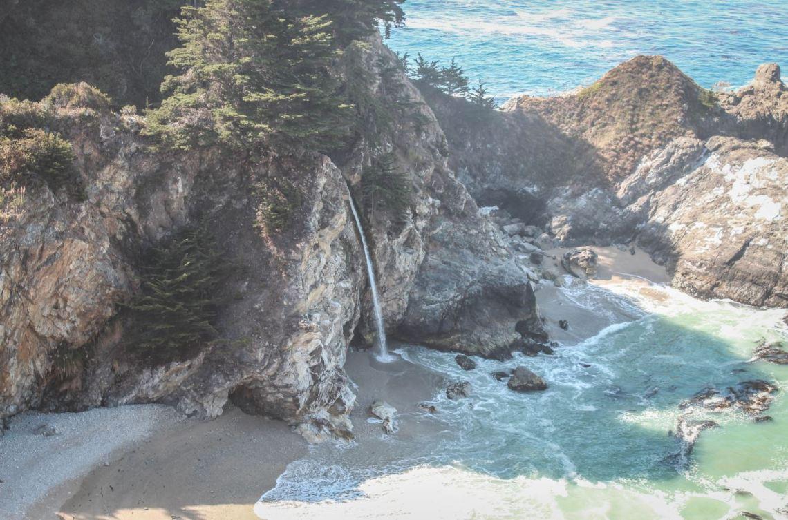 Mcway Falls - Big Sur
