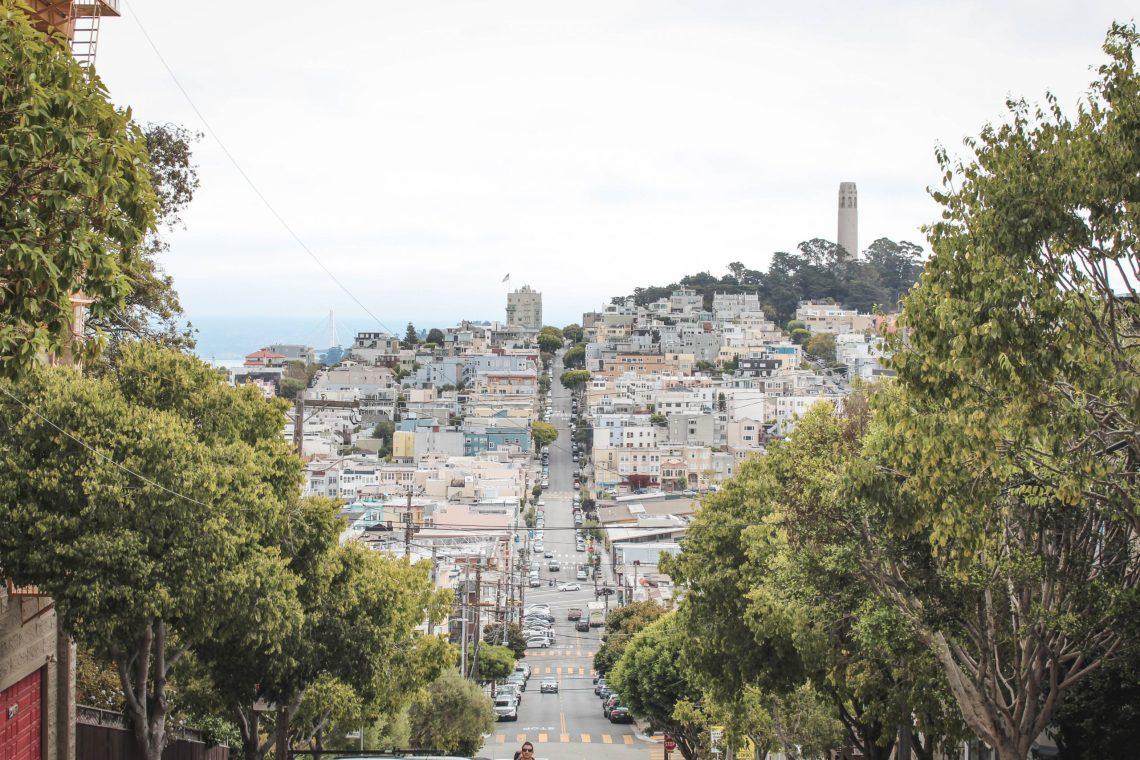 Una calle en San Francisco