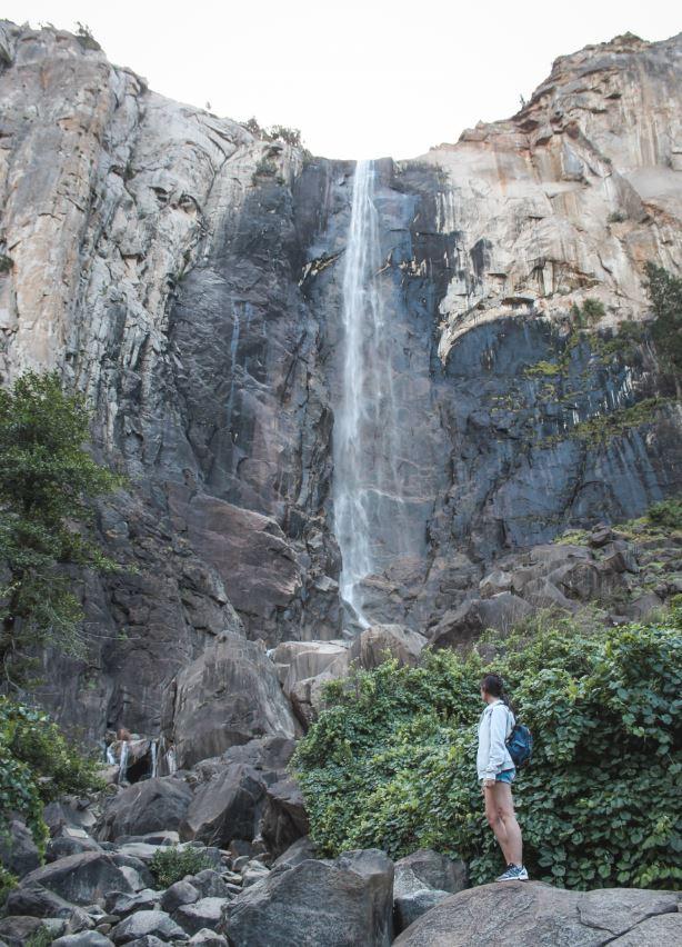 Qué ver en Yosemite - Bridalveil Fall