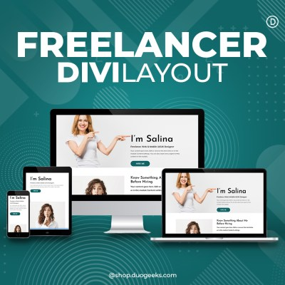 Divi Freelancer Layout